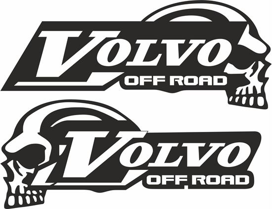 """Picture of Volvo FMX  """"Off Road"""" Panel / Glass  Decals / Stickers"""
