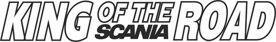 """Picture of """"King of the Road"""" windscreen / Panel  Decal / Sticker"""