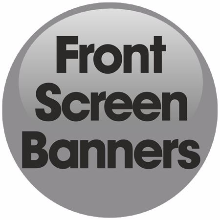Picture for category Scania Front Windscreen Text / Banners