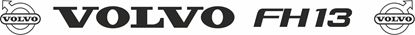 """Picture of """"Volvo FH13"""" Front screen Decal / Sticker"""
