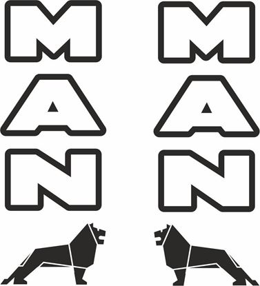 Picture of MAN Lion panel  Decals / Stickers