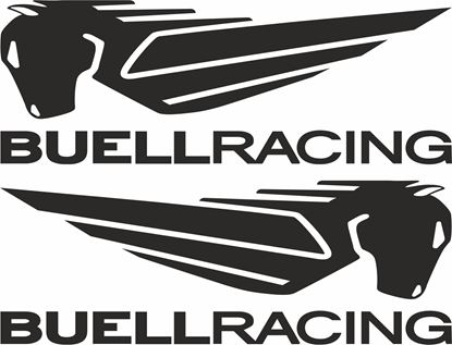 Picture of Buell Racing  panel / Tank  Decals / Stickers