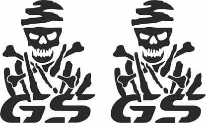 Picture of BMW Dakar GS  Panel  Decals / Stickers