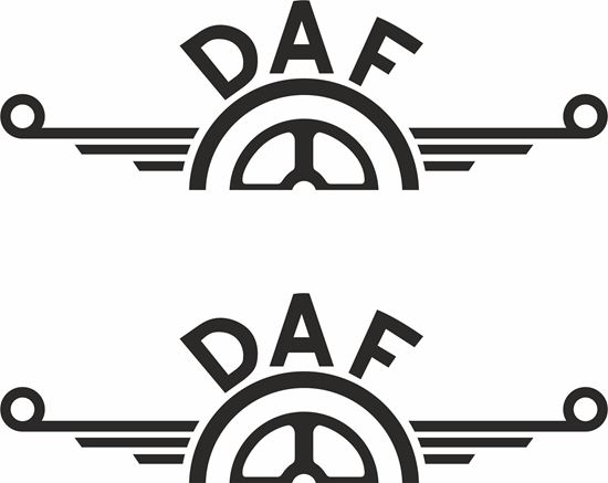 Picture of DAF  panel edge  Decals / Sticker