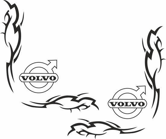 Picture of Volvo corner Glass Decals / Stickers