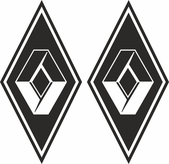 Picture of Renault Diamonds panel Decals / Stickers