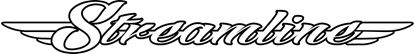"Picture of Scania  ""Streamline"" windscreen Panel Decal Sticker"