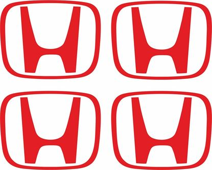 "Picture of Honda S2000  Wheel centre cap ""H"" replacement Decals  / Stickers"