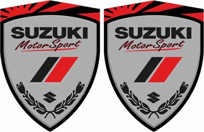 Picture of Suzuki Motorsport Wing / Panel Decals / Stickers