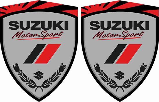 Picture of Suzuki Motorsport Wing / Panel Decals / Stickers