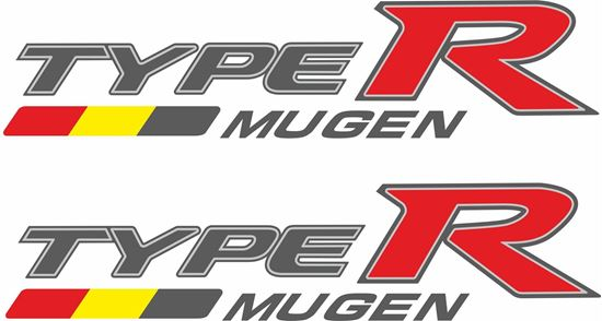 Picture of Honda Civic FD2 Type R Mugen side Decals / Stickers