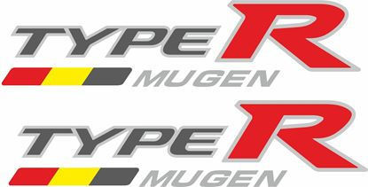 Picture of Honda Civic FN2 Type R Mugen side Decals / Stickers
