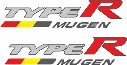 Picture of Honda Civic FK2  / FK8 Type R Mugen Decals /  Stickers