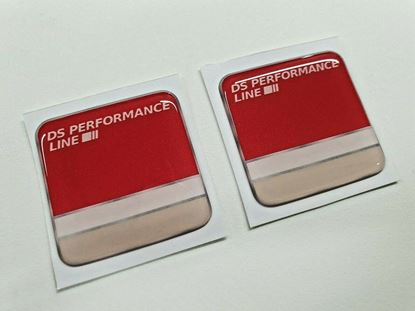 """Picture of """"DS Performance Line"""" 38mm  Badges"""