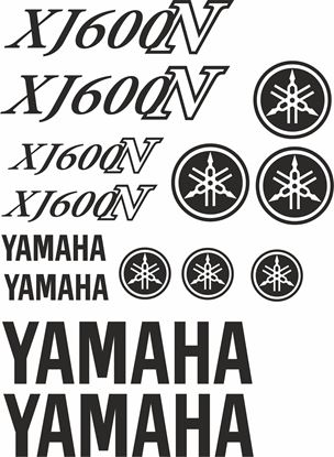 Picture of Yamaha XJ600N 1992 - 2004 Decals / Sticker kit