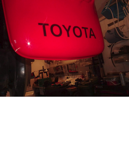 Picture of Toyota Mudguard Decals / Stickers