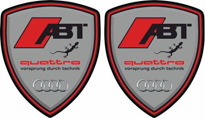 Picture of Audi ABT Quattro Wing / Panel Decals / Stickers
