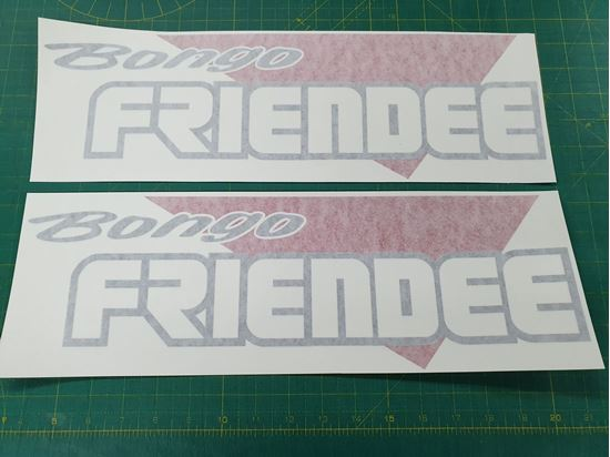 Picture of Mazda Friendee Bongo side Decals / Stickers