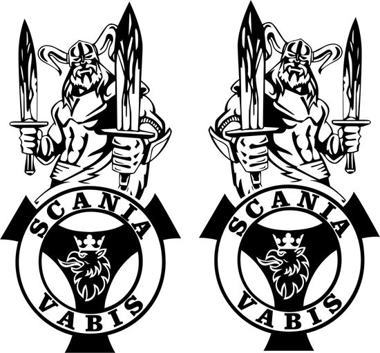 Picture of Scania Vabis  general panel Decals / Stickers