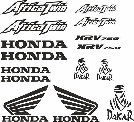 Picture of Honda XRV 750  Decals / Sticker kit