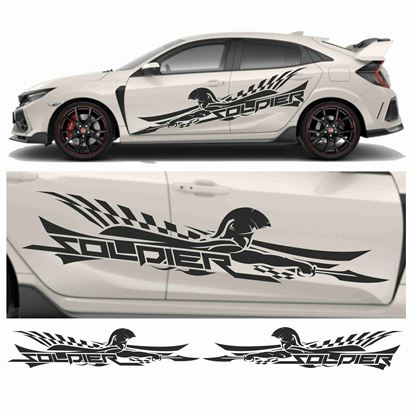"""Picture of JDM side """"Soldier"""" Graphics"""