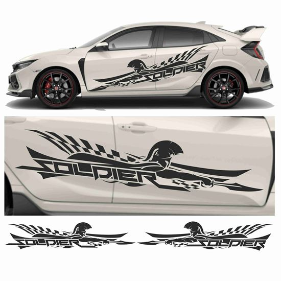 "Picture of JDM side ""Soldier"" Graphics"