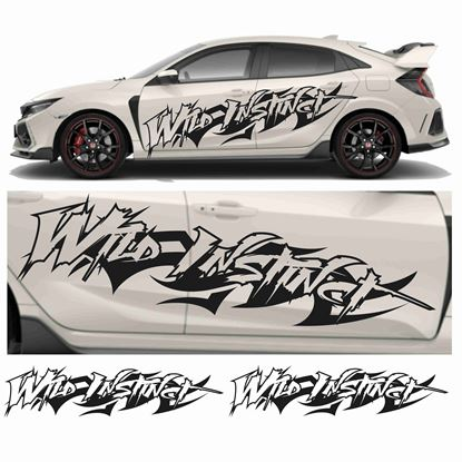 "Picture of JDM side ""Wild Instinct""  Graphics"