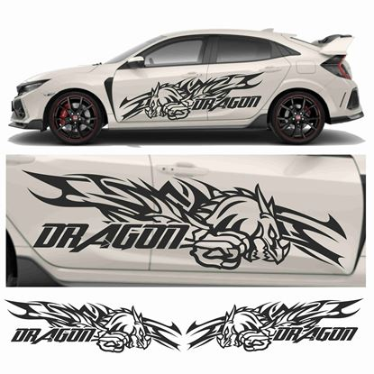 "Picture of JDM side ""Dragon""  Graphics"