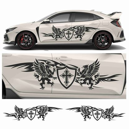 Picture of JDM side Dragon Sheild Graphics