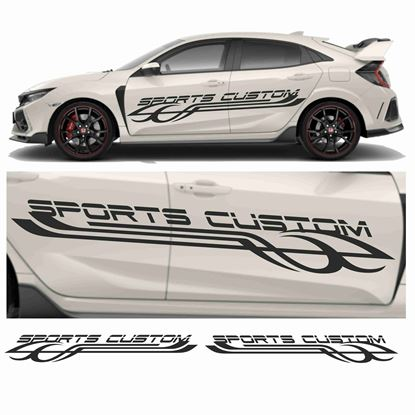 "Picture of JDM side ""Sports Custom"" Graphics"