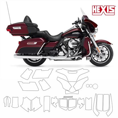 Picture of Harley Davidson Electra Glide Ultra Classic 2014  Pre Cut PPF full Kit