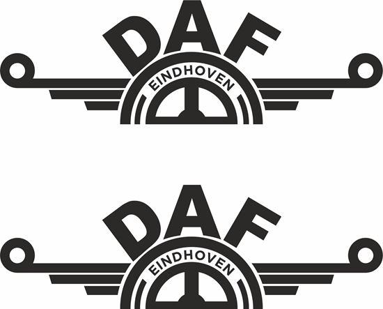 """Picture of DAF  """"Eindhoven""""panel edge  Decals / Sticker"""
