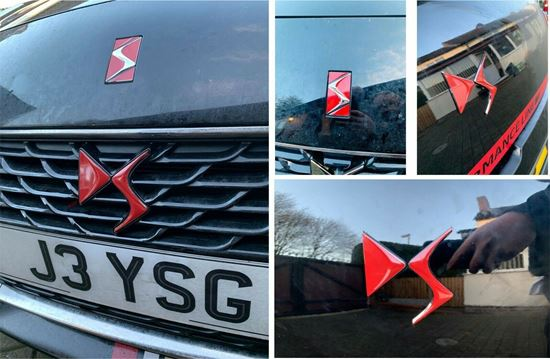 Picture of DS3 Badge overlay Decals / Stickers