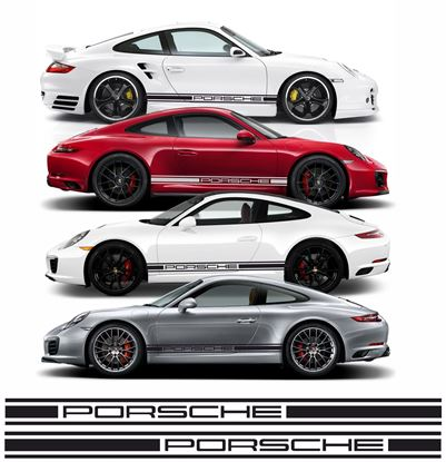 Picture of Porsche 911 / 997  side Stripes / Stickers