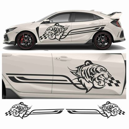 Picture of JDM Racing Tiger Tribal Graphics