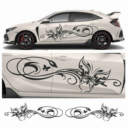 Picture of JDM side Butterfly Tribal  Graphics
