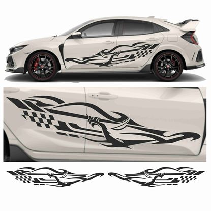 Picture of JDM Racing Tribal Graphics