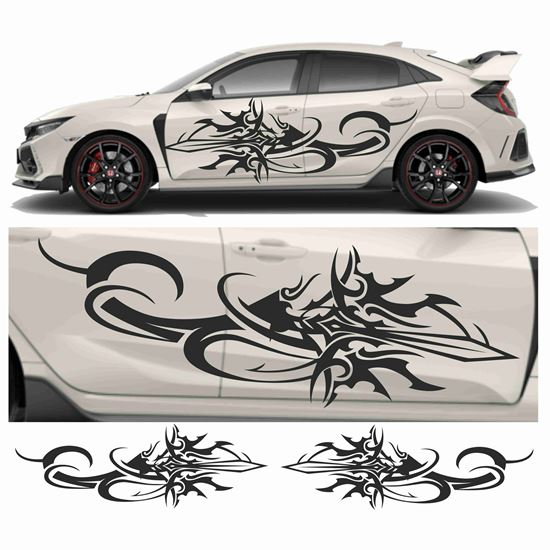Picture of JDM side Sword Tribal Graphics