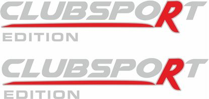 Picture of Vauxhall  VXR Clubsport Edition Decals / Stickers