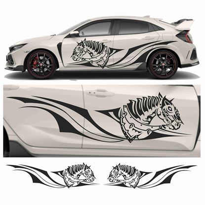 Picture of JDM side Battle Horse Tribal Graphics