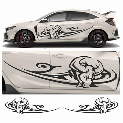 Picture of JDM Racing Bull Tribal Graphics