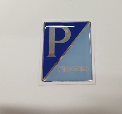 """Picture of Vespa """"Piaggio""""front Fairing Horncast insert for Badge Holder"""