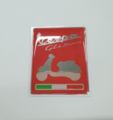 "Picture of Vespa ""GTS Super"" front Horncast Fairing insert for Badge Holder"