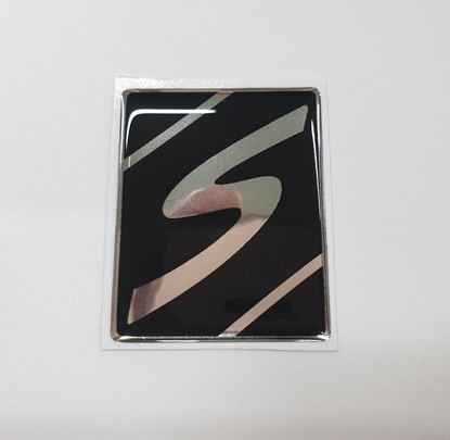 "Picture of Vespa ""S"" front Fairing Horncast insert for Badge Holder"