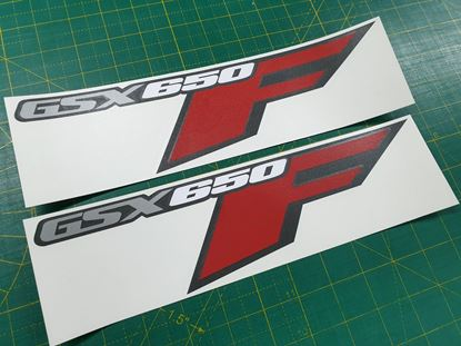 Picture of Suzuki GSX 650F replacement Fairing Decals / Stickers