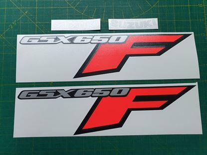 Picture of Suzuki GSX 650F 2008 on replacement Fairing Decals / Stickers