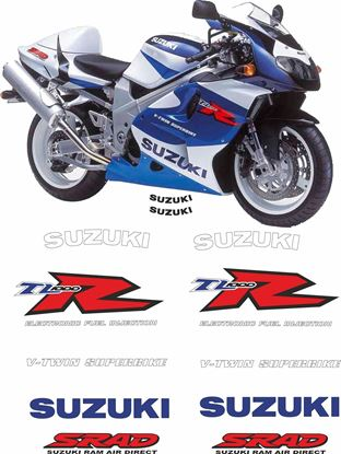 Picture of Suzuki TL1000R 1998 replacement Decals / Stickers