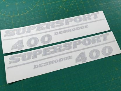 Picture of DUCATI 400 Supersport  Replacement Side Fairing Decals / Stickers