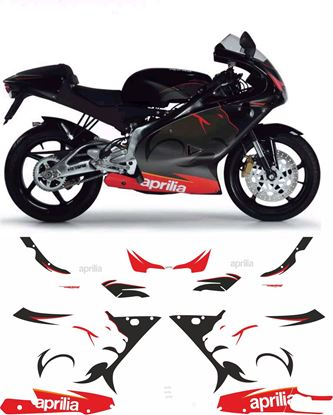 Picture of Aprilia RS125  2005  Replacement Decals / Stickers
