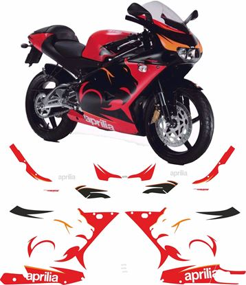 Picture of Aprilia RS125 1999 - 2005  Replacement Decals / Stickers